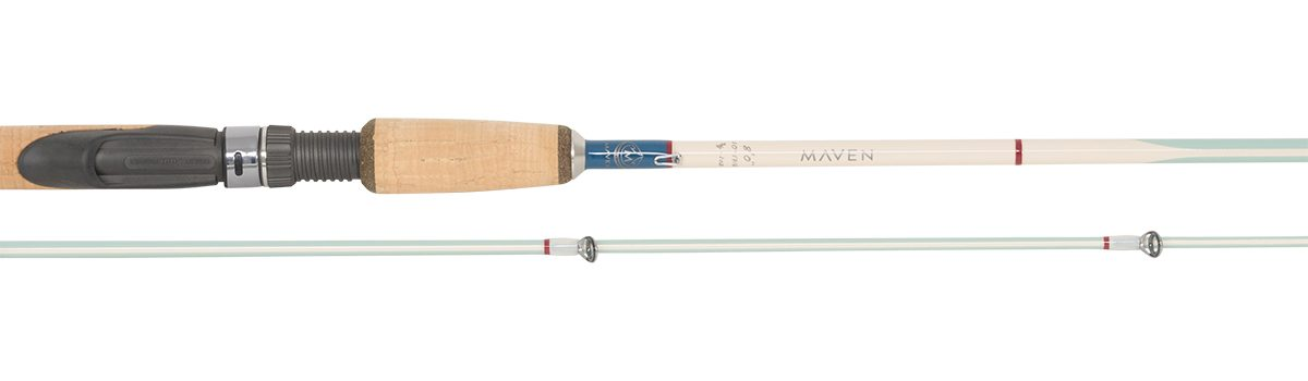 "Maven Gulf 8'0"" 2pc Spinning Rod | Sea Foam"