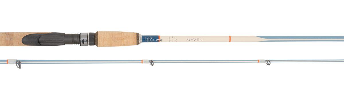 "Maven Gulf 8'0"" 2pc Spinning Rod | Vintage Blue"